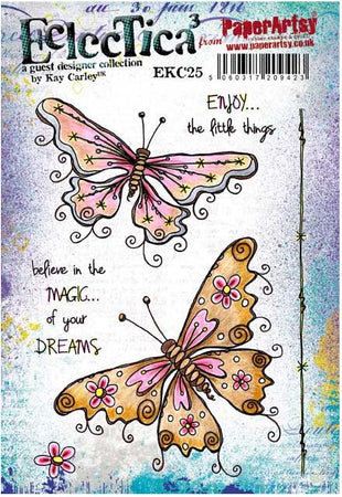 PaperArtsy Stamp Set - Eclectica�� Kay Carley 25
