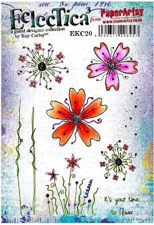 PaperArtsy Stamp Set - Eclectica�� Kay Carley 20