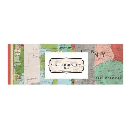Carta Bella Cartography No. 2 - Bazzill Matchmaker Pack