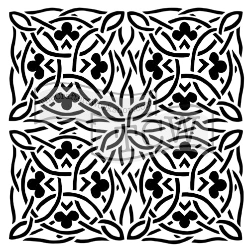 Crafter's Workshop 6x6 Template - Celtic Design