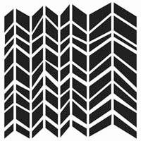 Crafter's Workshop 6x6 Template - Chunky Chevron