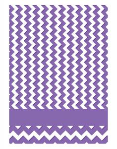 Couture Creations Embossing Folder - Chevron