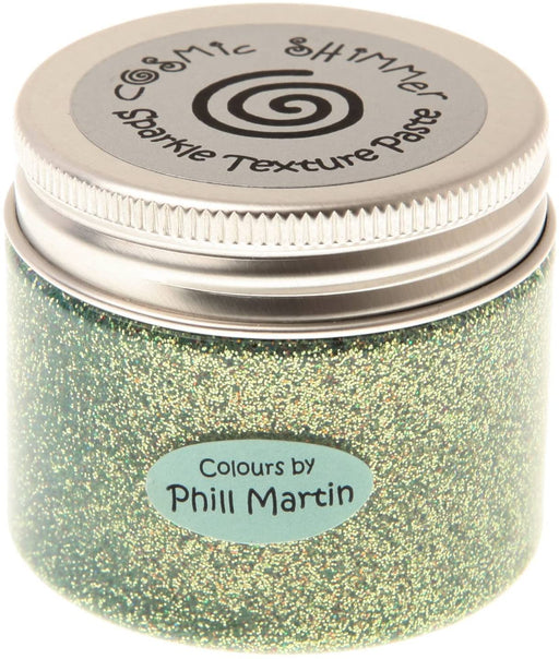 Cosmic Shimmer Sparkle Texture Paste - Chic Moss