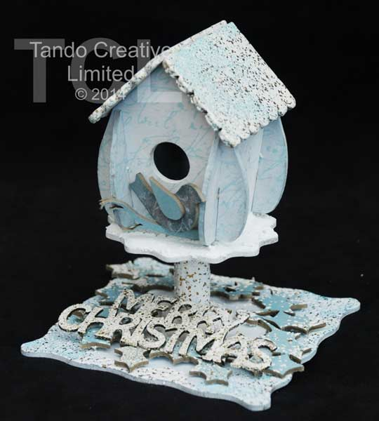 Tando Creative - Christmas Birdhouse Kit
