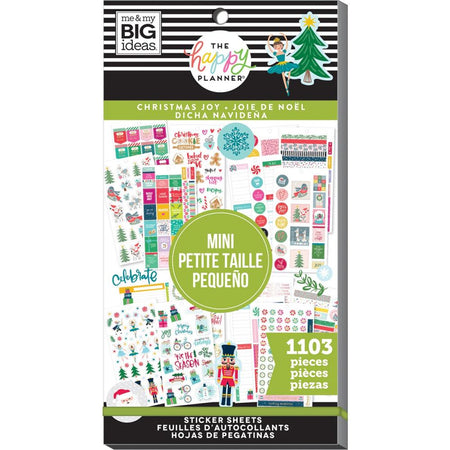 Me & My Big Ideas Happy Planner - Sticker Value Pack Christmas Joy Mini