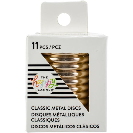 Me & My Big Ideas Happy Planner - Medium Metal Expander Discs Gold