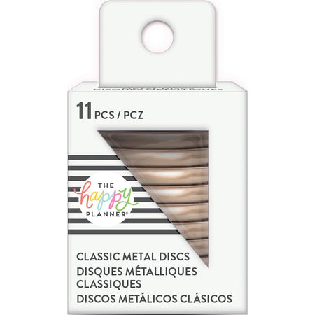 Me & My Big Ideas Happy Planner - Medium Metal Expander Discs Rose Gold