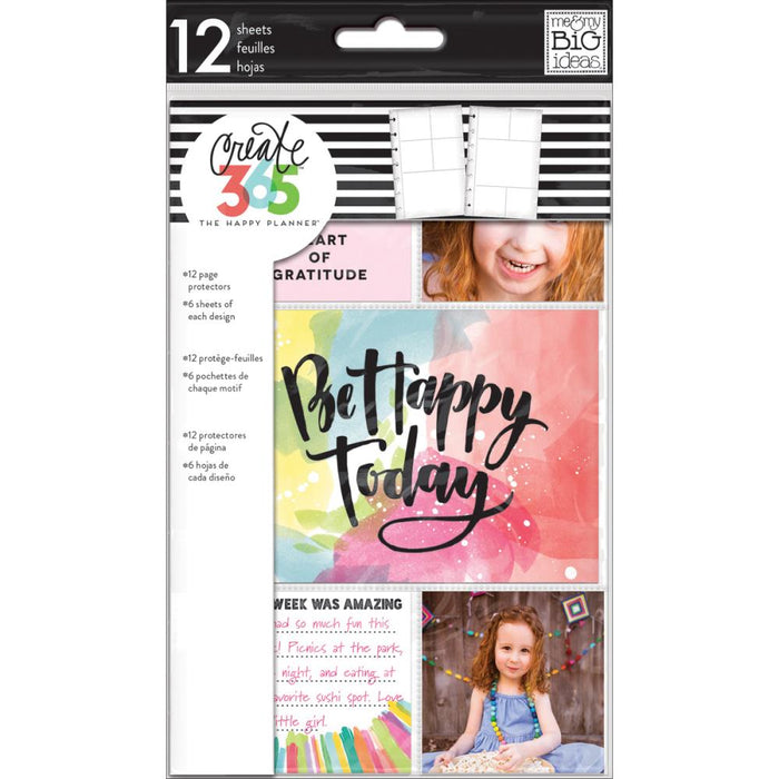 Me & My Big Ideas Happy Planner - Mini Planner Page Protectors