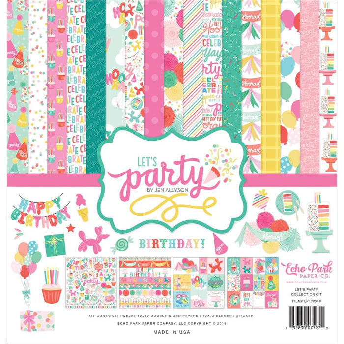 Echo Park Let's Party - Collection Kit
