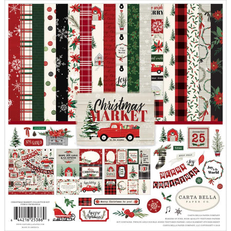Carta Bella Christmas Market - Collection Kit