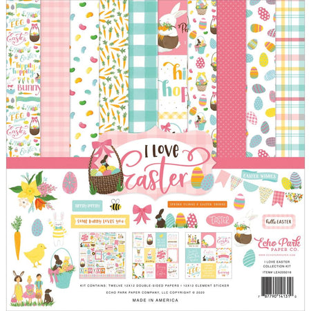 Echo Park I Love Easter - Collection Kit