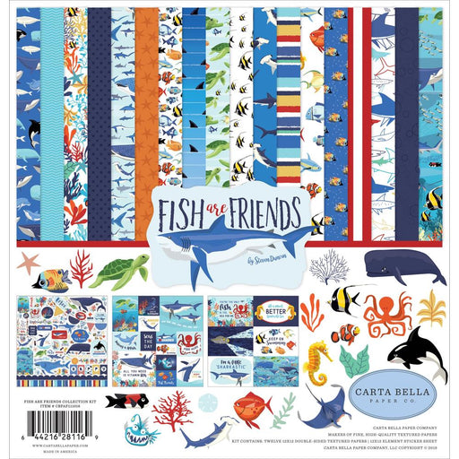 Carta Bella Fish Are Friends - Collection Kit