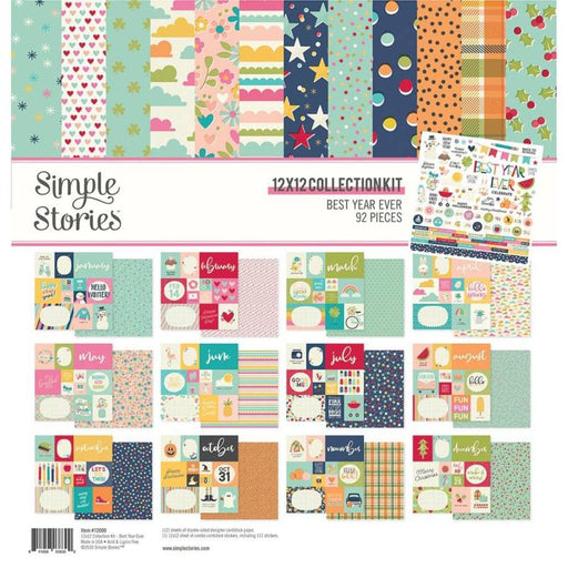 Simple Stories Best Year Ever - 12x12 Collection Kit