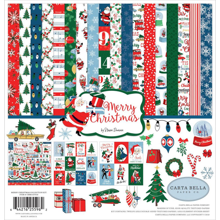 Carta Bella Merry Christmas - Collection Kit