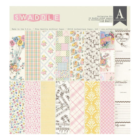 Authentique Swaddle Girl - Collection Kit