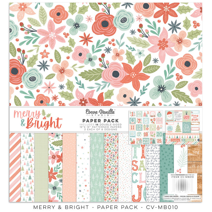 Cocoa Vanilla Studio Merry & Bright - Collection Kit
