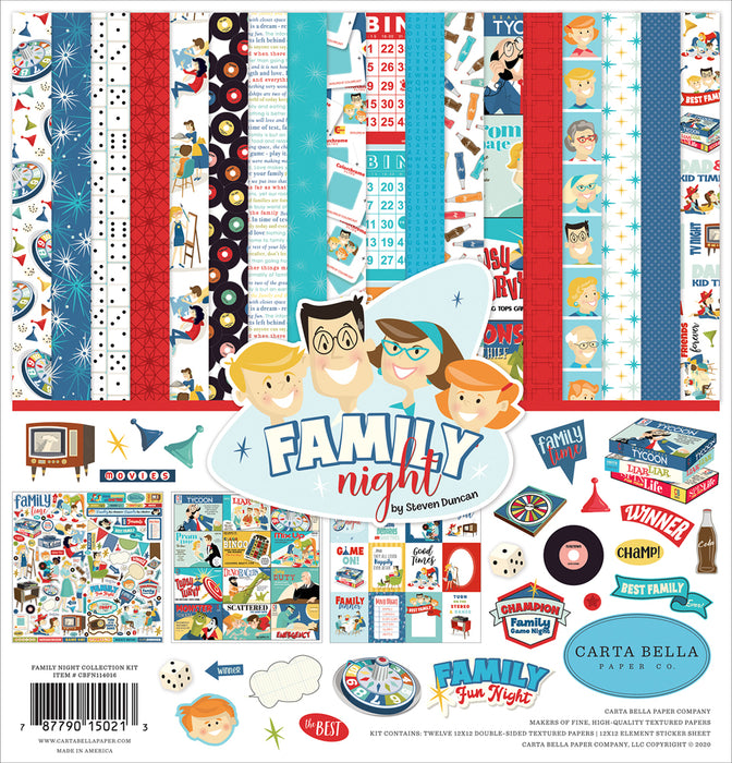 Carta Bella Family Night - Collection Kit