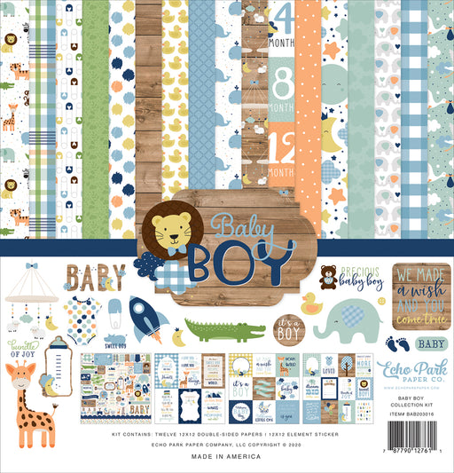 Echo Park Baby Boy - Collection Kit