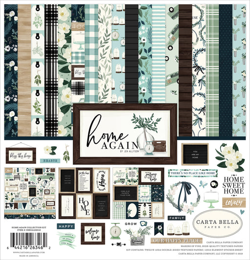 Carta Bella Home Again - Collection Kit