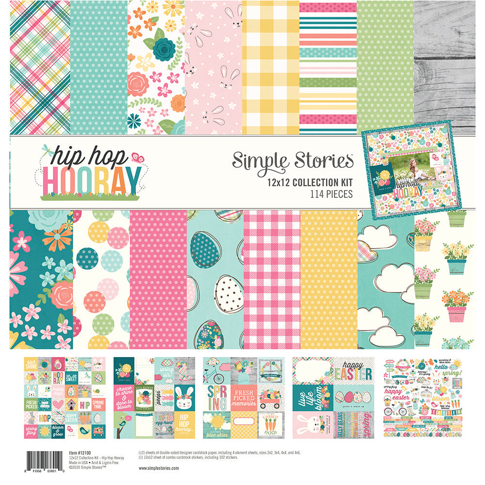 Simple Stories Hip Hop Hooray - 12x12 Collection Kit