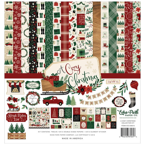 Echo Park A Cozy Christmas - Collection Kit
