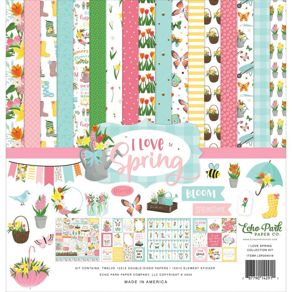 Echo Park I Love Spring - Collection Kit