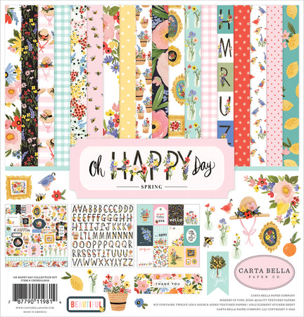 Carta Bella Oh Happy Day - Collection Kit