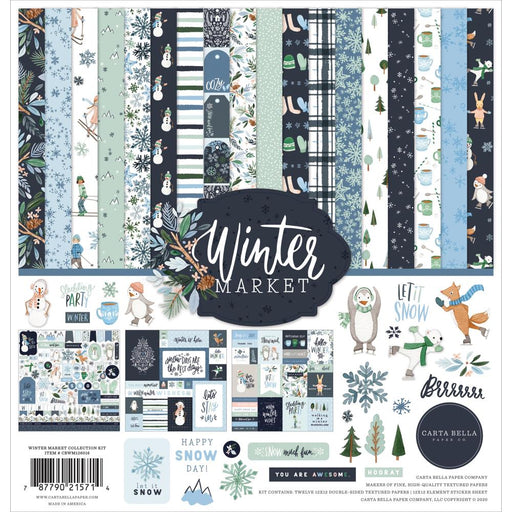 Carta Bella Winter Market - Collection Kit