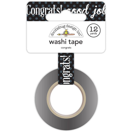 Doodlebug Design Hats Off! Washi Tape - Congrats
