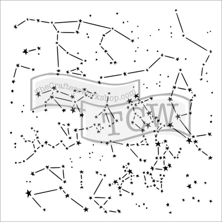 Crafter's Workshop 6x6 Template - Constellations