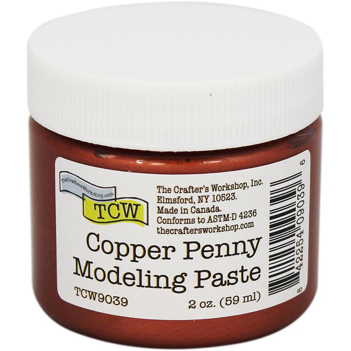 Crafter's Workshop Modeling Paste - Copper Penny