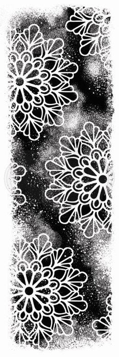 Woodware Clear Magic Stamp Set - Cosmic Background