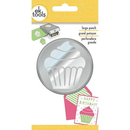 EK Success Slim Large Punch - Cupcake