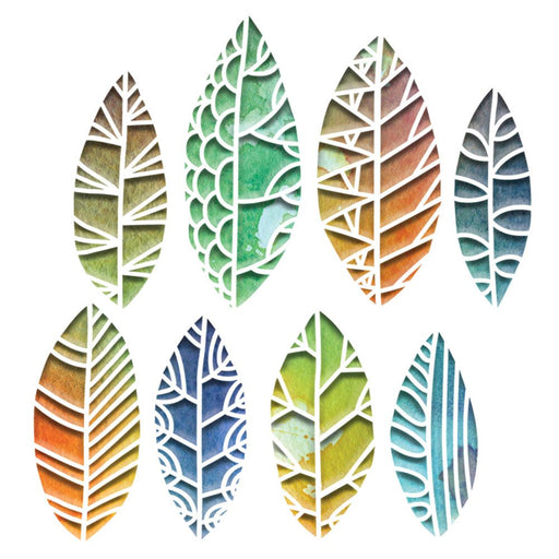 Sizzix Tim Holtz Alterations Thinlits Die - Cut Out Leaves