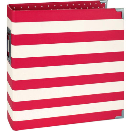 Simple Stories 6x8 Sn@p Designer Binder - Red