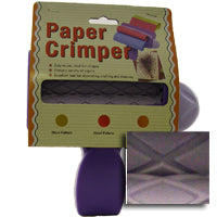Woodware Paper Crimper - Diamond Pattern