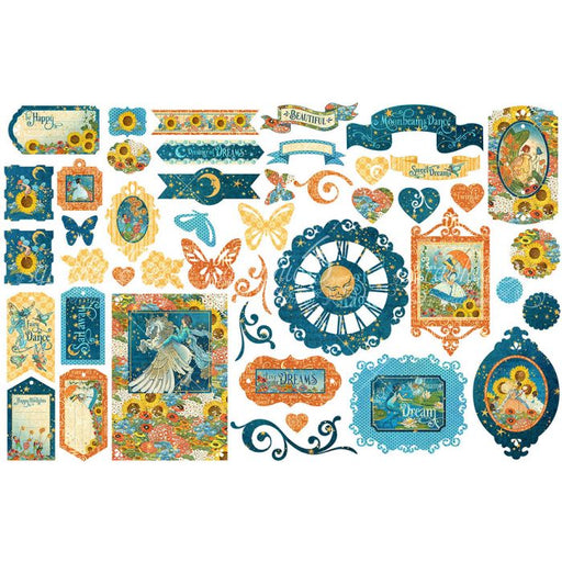 Graphic 45 Dreamland - Die Cut Assortment
