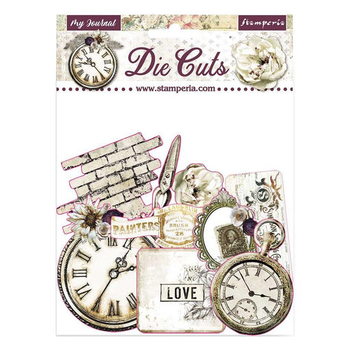 Stamperia Romantic Journal - Die-Cuts