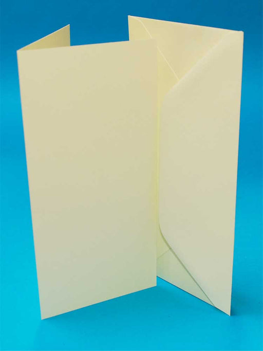 Craft UK Card Blanks & Envelopes - DL Ivory