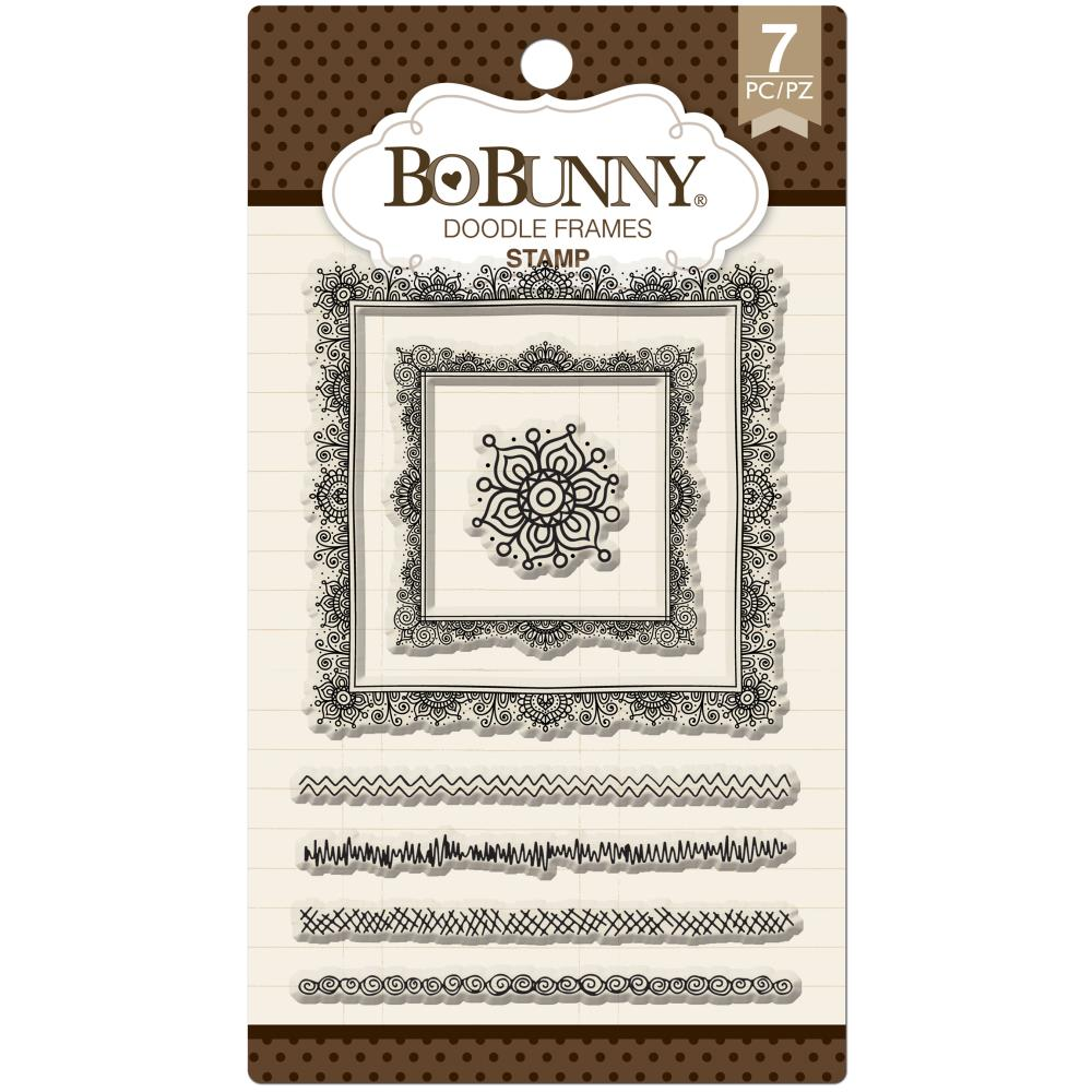 Bo Bunny Clear Stamps - Doodle Frames