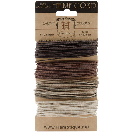 Hemptique Hemp Cord - Earthy