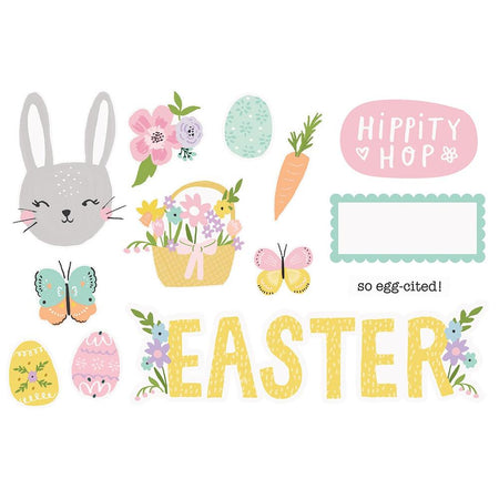 Simple Stories Page Pieces - Easter