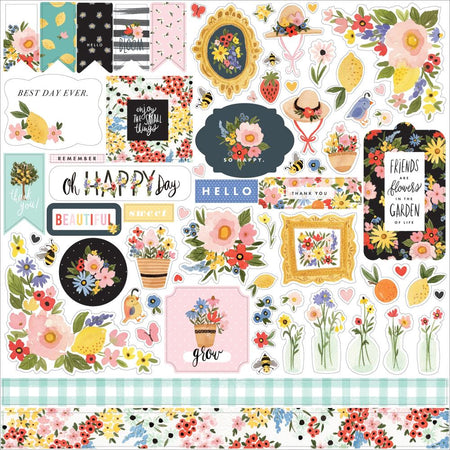 Carta Bella Oh Happy Day - Element Stickers