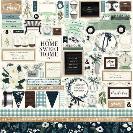 Carta Bella Home Again - Element Stickers