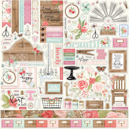 Carta Bella Farmhouse Market - Element Stickers