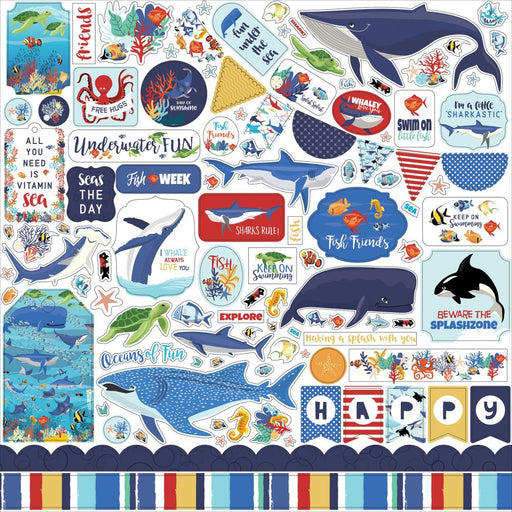 Carta Bella Fish Are Friends - Element Stickers