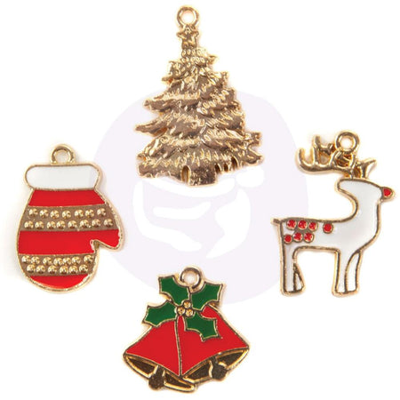 Prima Christmas In The Country  - Enamel Charms