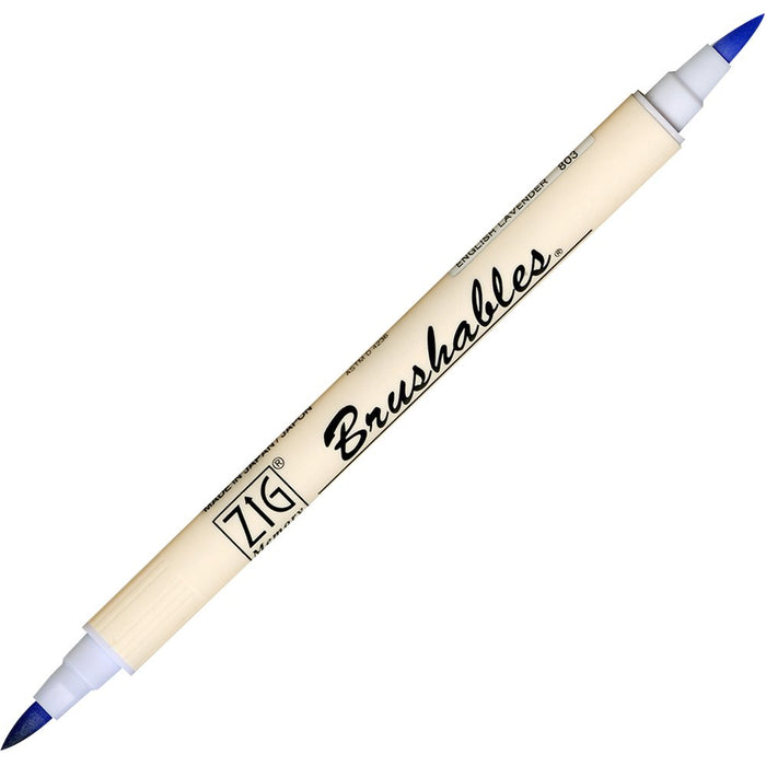 Zig Brushables Pen - English Lavender