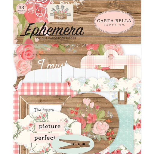 Carta Bella Farmhouse Market - Ephemera