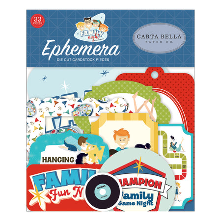 Carta Bella Family Night - Ephemera